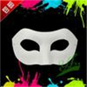 demi-masque vierge achat en gros de-news_sitemap_homePaper Halloween Party Masque Blanc Blanc Half Zorro Face Masque Masque DIY HIP HOP MASQUES MASQUES DE CHRISSION DE NOËL PCSNC