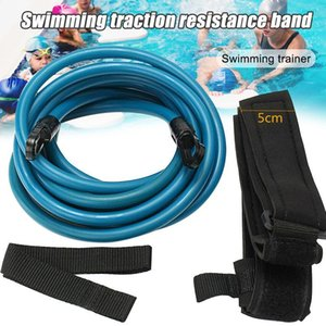 Wholesale swim trainer pool resale online - Swimming Training Rope Bungee Exerciser Leash Swim Belt Safety Pool Swimming Trainer WHShopping1