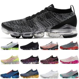 zapatos de correr para mujer al por mayor-NUEVO Hot Oreo Pure Platinum South Beach Womens Shoes Zapatos Triple Negro Brillante Mango Flash Crimson White Volt Mens Designer Sneakers