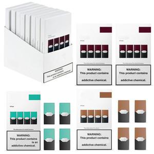 Disposable Vape Pods Vape Pen Empty Cartridges For Ecig Kit Compatible VS Puff Bar Pods Empty Eon Pod Cartridge Posh Pods Puff Plus 7 Colors