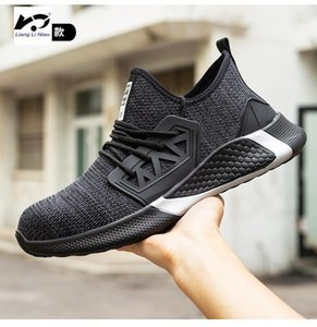 Wholesale steel toed boots for sale - Group buy Work Safety Boot For Men Anti Smashing Construction Safety Shoes Steel Toe Cap Work Shoes Indestructible Sneakers1
