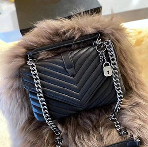 Wholesale motorcycle style women leather handbags resale online - 2020 new designer big name ladies shoulder bag retro all match flap messenger bag PU leather letters female party handbag classic style
