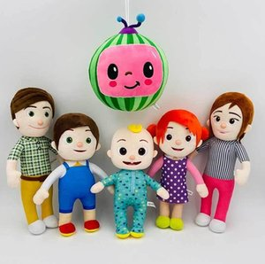 Wholesale football soft toys resale online - Cocomelon Plush Toy Soft Family Cocomelon JJ Sister Brother Daddy Mummy Stuffed Doll Educational Toys For Children Gift