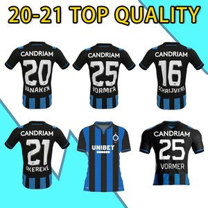 Wholesale new jersey clothing resale online - New Club Brugge KV Football Uniform Clothes Belgium Bruges Child Youth Soccer Jersey VORMER VANAKEN DIATTA