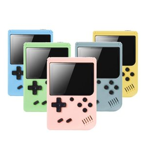 Wholesale music box for boys for sale - Group buy 3 Inch Game Console in Mini Retro Game Box Support TV Out Handheld Portable Console tetris For Boy Gifts toys inpods color Q0104