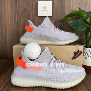 pelotas de deporte al por mayor-Top Confort Mens Running Zapatillas para mujer Las mejores zapatillas deportivas para mujer Kanye Desert Sage Sail Static Earth Zyon Tail Light Collight Cinder con Bola West Tamaño