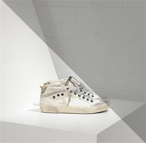 Wholesale golden goose for sale - Group buy Italy Brand Multicolor Heel Golden Superstar Gooses Designer Sneakers Men Women Classic White Do old Dirty Shoes Casual Shoes