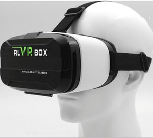 Wholesale vr box resale online - New D VR box case glasses VR headset games for mobile phone