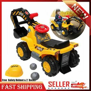 Wholesale toys ride ons for sale - Group buy Toy Tractors for Kids Ride On Excavator without Power Two Plastic Artificial Stones Gift for Children Over Years Old
