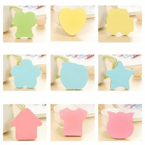 Wholesale shaped sticky notes resale online - Self Stick Notes in Different Shapes Colorful Super Sticky Notes Sheets Pad for Students Home Office Easy Post Pack of1