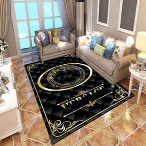 Wholesale size rugs resale online - 2021New Luxurys Nordic Style Pattern Carpet Big Size Living Room Bedroom Table Rug Carpet and Rug Rectangular Anti Slip Modern