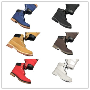 Wholesale tooling leather resale online - Tim boots men s high top rhubarb women s shoes casual boots fashion trend tooling snow boots