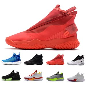 Wholesale china sale basketball shoes for sale - Group buy Sale Black white zoom BB Nxt Proto react mens Athletic shoes Dangerous China Rawthentic red men trainers outdoor sports sneakers