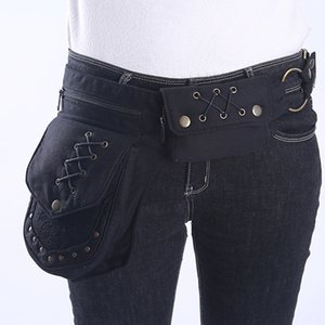 Wholesale butt hips for sale - Group buy Butt bags Women Vintage Fanny Pack Tactical Multifunctional Photography Waist Bags For Men New Hip hop Bohemian Style Leg Bag