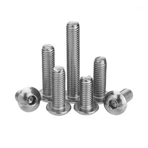 Wholesale stainless steel hex socket for sale - Group buy M5SH6 M5 Stainless Steel Hex Socket Button Head Screw Bolt mm Optional Length1
