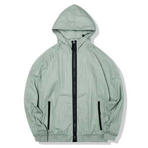 topstoney 2020 konng gonng New spring and summer thin jacket fashion brand coat outdoor sun proof windbreaker Sunscreen clothing