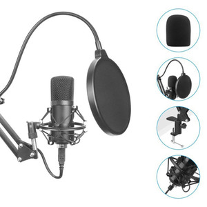 Wholesale usb microphones for sale - Group buy USB Computer Microphone Set KHZ Bit High Sampling Rate Professional Podcast Condenser Microphone For PC Karaoke YouTube
