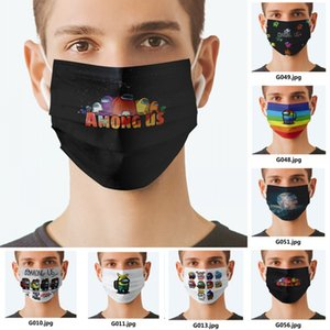 New Custom Logo Face Masks Fashion Designers Adults Cycling Outdoor Anti Dust Windproof Party Mask Washable Reusable Comfort Unisex Mask