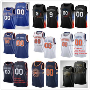 Wholesale pick s for sale - Group buy 2020 Basketball Draft Pick Jerseys Davis Obi Toppin Frank Ntilikina RJ Saben Lee Barrett Immanuel Mitchell Robinson Quickley