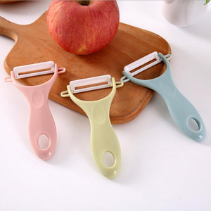 Wholesale peeler for potatoes for sale - Group buy Ceramics Peelers Parer Cutting Fruit Potato Vegetables Peeler Kitchen Tools Helper Grater for Carrots Nutcracker sea shipping DHB3266