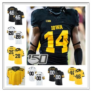 Wholesale iowa hawkeyes jerseys resale online - Men Iowa Hawkeyes Football Jersey George Kittle Josey Jewell AJ Epenesa Desmond King Brandon Smith Nico Ragaini Shaun Beyer Tyrone Tracy Jr