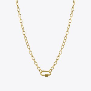 Wholesale screw stainless steel resale online - ENFASHION Punk Screw Pendant Necklace Women Stainless Steel Gold Color Chain Choker Necklaces Fashion Jewelry Collar P3133