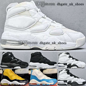 ingrosso aria più uptempo-Big Kid Boys formatori cestini aerei Uptempos Dimensione US Basket More Ladies Max Donne EUR Girls Sneakers Scarpe da uomo Scottie Pippen