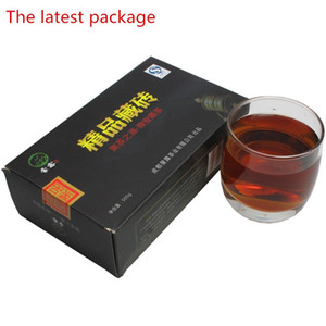 480g Chinese Organic Black Tea Tibetan Brick Red Tea Sichuan Ya'an Zang Cha Health Care New Cooked Tea Green Food Preferred