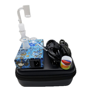 ich tc großhandel-E Nagel Electric DAB Nagel TC PID Box Rig Eheail Kit Domeless Titan Ti Carb Cap Temperatursteuerung Box Spulenheizung mit Ego Paket