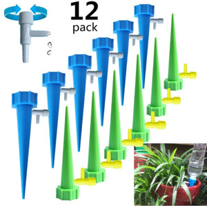 Auto Drip Irrigation Watering System Dripper Spike Kits Garden Household Plant Flower Automatic Waterer Tools for Potted Flower Energy Save