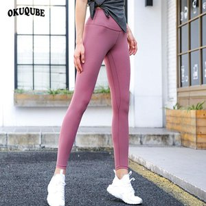 Wholesale women biking for sale - Group buy Women Yoga Pants Nylon Leggings Elastic Breathable Hip Lifting Tights Jogging Running Hiking Biking Gym Sports Pants Woman S XL