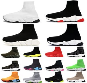 neue wellenmassage großhandel-Socken Stretch Neue Tripler Shoesr Mode Top Sneakers Wave Trainer Hommes Ether Womens Herren Casual Sportgeschwindigkeit