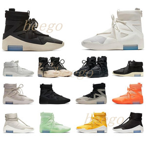 Wholesale lycra cloth for sale - Group buy FEAR King Shoes Basketball boot OF Pulse FOG Shoes Men Womens FOG Boots Black Yellow Sports Sneakers Trainers b