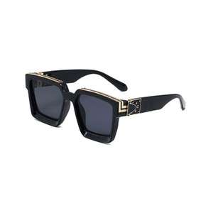Top Quality Womans Sunglasses Brand glasses MILLIONAIRE Mens Sun glasses Brand Designer Sunglasses 96006 glasses with Original cases and box