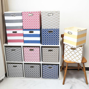 Wholesale storage for toys for sale - Group buy Cube Folding Storage Box Clothes Storage Bins for Toys Organizers Baskets for Nursery Office Closet Shelf Container Size