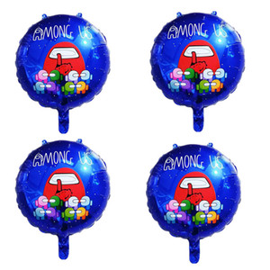 baby spiele großhandel-Cartoon Spiel zwischen den US Folienballons Baby Dusche Jungen aufblasbare Helium Globos Kinder Happy Birthday Party Dekorationen Bälle HHE4179