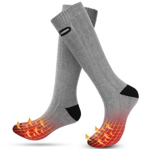 Wholesale waterproof socks resale online - Winter Heating Socks Rechargeable Electric Heated Socks Waterproof Battery Powered Heat with Level Temperature Setting