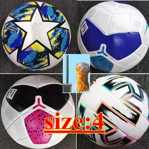 new European champion Size 4 Balls soccer Ball high-grade nice match liga premer football balls (Ship the balls without air)