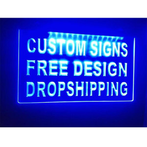 Custom Your Own Design Led Glass Light Neon Signs Custom-made Amazing Incredible Excellent Work Craftsmanship Free Shipping