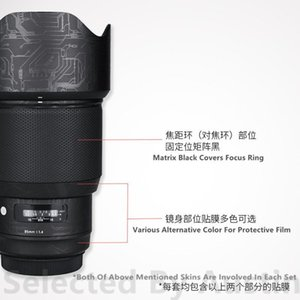 Wholesale sigma lens for sale - Group buy Lens Skin Decal Protector For Sigma f1 Art EF Mount Anti scratch Skin Wrap Cover Case1