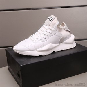 Wholesale italian low sneakers for sale - Group buy 2021 Top quality Y3 Men Italy Italian Shoe Y Kaiwa Leather Chunky Sneakers Trainers Low Cut Luxue Runners Sneakers Men Casual Shoes