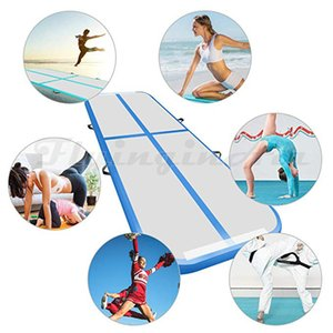 Wholesale gymnastics tumbling for sale - Group buy Customized Kids Air Track Inflatable Gymnastics Tumbling Air Floor Yoga Mat m Length Multicolor Blow Up Taekwondo Mat For Fitness Training