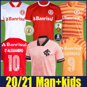 Wholesale rosa gold resale online - 2020 SC International football jersey man kids Outubro Rosa special jersey V CUEST GUERRERO D ALESSANDRO football shirts camisa de SCI