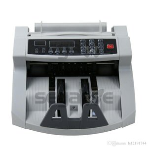 Wholesale money counter machines resale online - New Money Bill Cash Counter Bank Machine Currency Counting UV MG Counterfeit