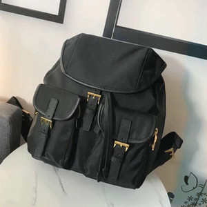 Wholesale fashion schoolbag for sale - Group buy classic canvas backpack parachute fabric waterproof nylon rucksack schoolbag travel new wome bag fashion backpack shoulder bag m