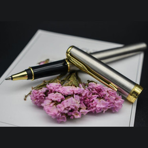 STOHOLEE Metal Silver Gold Roller Pen Medium Nib 0.5mm Signature Ballpoint Pen Gift Pens for Writing School Office Suppliers Stationery