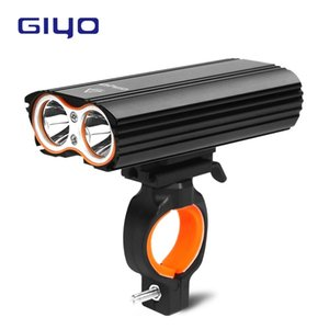 Wholesale parts for bicycles resale online - GIYO Bicycle Bike Light Front Light Bicycle Lm Headlight T6 Leds Cycling Flashlight for Mountain Bike or Road Bike Parts