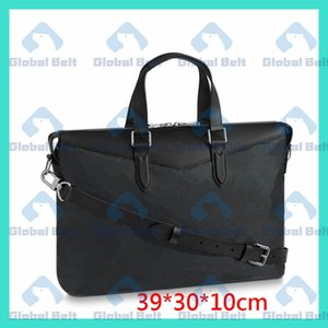 Wholesale laptop neoprene zipper bag for sale - Group buy men briefcase classica Aktentasche laptop bag mens bag Fashion street retro computer bag borsello uomo sacoche mens handbagS messenger