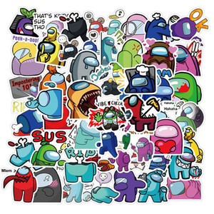 utilise des ordinateurs portables achat en gros de-news_sitemap_home50pcs jeu Parmi nous Graffiti Stickers Jeu Anime Stickers Jouet Jouet Bagage Portable Guitare Stickers muraux imperméables sans laisser de colle CPA2645