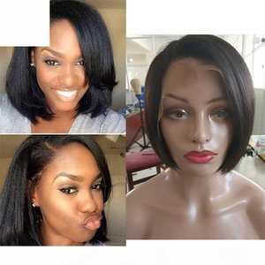 Wholesale short haircut women for sale - Group buy Straight Lace Front Human Hair Wigs Cheap Short Pixie Cut Wigs with Baby Hair African Haircut Style Brazilian Ladies Wigs for Black Women